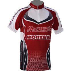 InSPORTline Koszulka rowerowa 1353 czerwona r. S. Czerwone odzież rowerowa męska inSPORTline, m. Za 69,90 zł.