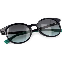 Okulary przeciwsłoneczne BOSS - 0288/S Blue PJP. Niebieskie okulary przeciwsłoneczne damskie lenonki marki Boss. W wyprzedaży za 389,00 zł.