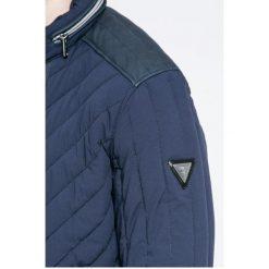 Guess Jeans - Kurtka. Czarne kurtki męskie jeansowe marki Engine, xxl, z aplikacjami, klasyczne. W wyprzedaży za 459,90 zł.