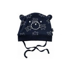 Staccato  Boys Czapeczka dark navy - niebieski - Gr.Niemowlę (0 - 6 miesięcy). Niebieskie czapeczki niemowlęce marki Staccato, z bawełny, z długim rękawem, długie. Za 25,00 zł.