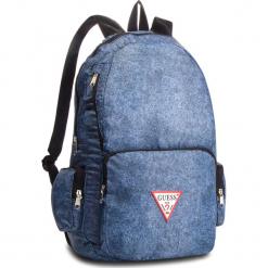 Plecak GUESS - HM6525 NYL84 DEN. Niebieskie plecaki męskie Guess, z aplikacjami, z materiału. Za 279,00 zł.