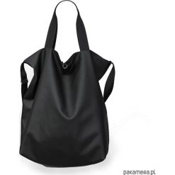 Dwustronna Torba TWIN Black Envy. Czarne torebki klasyczne damskie Pakamera, ze skóry. Za 245,00 zł.
