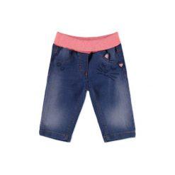 Odzież dziecięca: ESPRIT Girls Spodnie jeans washed denim