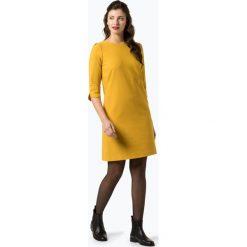 More & More - Sukienka damska, żółty. Żółte sukienki z falbanami marki More & More, z nadrukiem, proste. Za 399,95 zł.