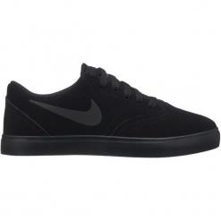 Nike Tenisówki Chłopięce Sb Check Suede 38,5 Czarne. Czarne buty sportowe chłopięce Nike. Za 229,00 zł.