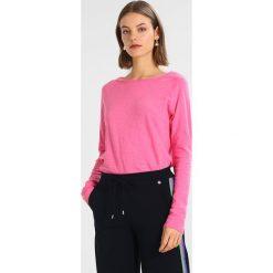 Bluzki asymetryczne: Rich & Royal HEAVY LONGSLEEVE Bluzka z długim rękawem pink
