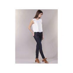 Jeansy slim fit Freeman T.Porter  COREENA SDM. Niebieskie jeansy damskie relaxed fit marki Freeman T. Porter. Za 319,20 zł.