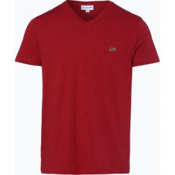 T-shirty męskie: Lacoste – T-shirt męski, czerwony