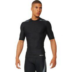 Adidas Koszulka męska Tech Fit Power SS czarna r. L (AJ4889). Czarne koszulki sportowe męskie marki Adidas, l. Za 213,43 zł.