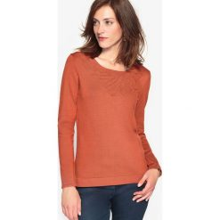 Swetry damskie: Sweter z fantazyjnej dzianiny