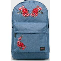 Spiral - Plecak Rosegarden. Szare plecaki damskie Spiral, z poliesteru. W wyprzedaży za 99,90 zł.