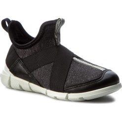 Creepersy damskie: Półbuty ECCO - Intrinsic Sneaker 70507254610 Black/Black/White