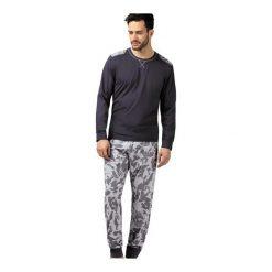Piżama Gabriel 204104 dł.ręk. Brązowe piżamy męskie Wadima, m, moro. Za 119,90 zł.