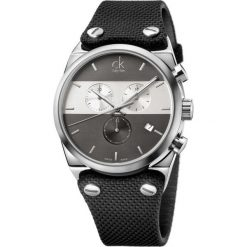 ZEGAREK CALVIN KLEIN EAGER K4B371B3. Niebieskie zegarki męskie Calvin Klein, szklane. Za 1469,00 zł.