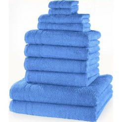 """Bielizna męska: Komplet ręczników """"New Uni""""(10 części) bonprix morski"""