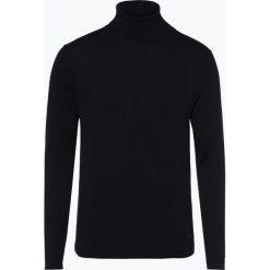 Marc O'Polo Denim - Sweter męski, niebieski. Niebieskie swetry klasyczne męskie Marc O'Polo DENIM, l, z nadrukiem, z denimu, polo. Za 349,95 zł.