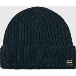 Medicine - Czapka Secret Garden. Czarne czapki zimowe męskie MEDICINE, z bawełny. W wyprzedaży za 39,90 zł.