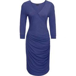 Sukienki: Sukienka z dżerseju z wycięciami bonprix kobaltowy