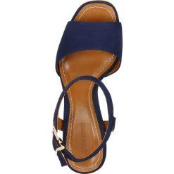Sandały ASILA. Szare sandały damskie na słupku marki Gino Rossi, z gumy. Za 279,90 zł.