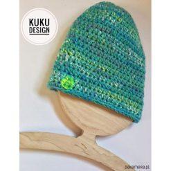 Czapka zielona. Zielone czapki zimowe damskie Pakamera. Za 99,00 zł.