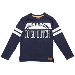 Dirkje Koszulka Chłopięca To Go Dutch 104 Niebieski. Niebieskie t-shirty chłopięce z nadrukiem Dirkje. Za 55,00 zł.