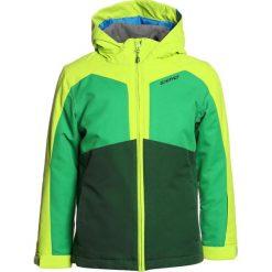 Ziener ABORO JUN  Kurtka narciarska forest green. Niebieskie kurtki chłopięce sportowe marki bonprix, z kapturem. W wyprzedaży za 383,20 zł.
