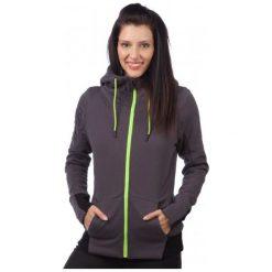 Bluzy rozpinane damskie: FOX Bluza Damska Objective Sherpa Zip Hdy Xs Szary