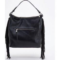 Torebka z frędzlami - Czarny. Czarne torebki klasyczne damskie Reserved, z frędzlami. Za 159,99 zł.