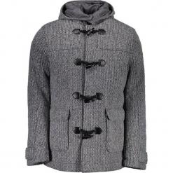 Płaszcz w kolorze szarym. Szare płaszcze na zamek męskie marki Guess, na zimę, m. W wyprzedaży za 749,95 zł.