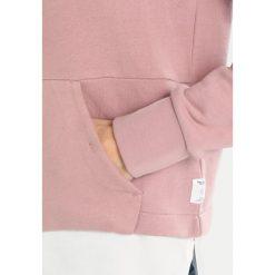 Bluzy rozpinane damskie: Marc O'Polo DENIM HOODY FABRIC MIX Bluza dry lilac