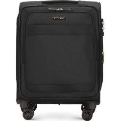 Walizka kabinowa 56-3S-581-10. Czarne walizki marki Wittchen, małe. Za 349,00 zł.