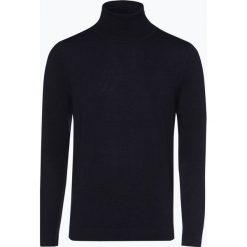 Drykorn - Sweter męski – Joey, niebieski. Niebieskie swetry klasyczne męskie marki DRYKORN, m, z dekoltem karo. Za 449,95 zł.
