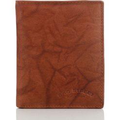 PORTFEL MĘSKI BAG STREET W PUDEŁKU. Brązowe portfele męskie marki Bag Street, ze skóry. Za 39,90 zł.