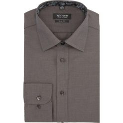 Koszula bexley 2510 długi rękaw slim fit brąz. Szare koszule męskie slim marki Recman, m, z długim rękawem. Za 139,00 zł.