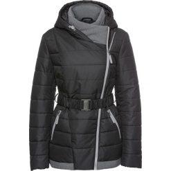 Płaszcze damskie pastelowe: Zimowy krótki płaszcz bonprix czarny
