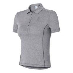 Odlo Koszulka rowerowa Tech. Polo Shirt s/s Classic  szara r. S (410931S). Szare odzież rowerowa męska Odlo, m. Za 209,96 zł.