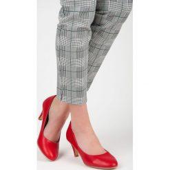 Buty ślubne damskie: Czółenka klasyczne biznesowe EVA