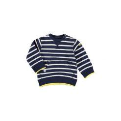 Staccato  Boys Bluza marine paski - niebieski - Gr.Moda (6 - 24 miesięcy ). Niebieskie bluzy niemowlęce marki Staccato, z bawełny, z długim rękawem, długie. Za 55,00 zł.