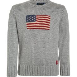 Swetry dziewczęce: Polo Ralph Lauren FLAG Sweter grey heather