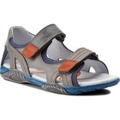 Sandały RENBUT - 31-4336 Popiel Jeans. Szare sandały męskie skórzane marki Blukids. W wyprzedaży za 159,00 zł.