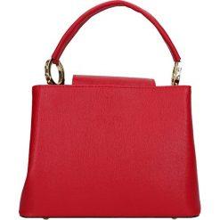 """Torebki klasyczne damskie: Skórzana torebka """"Foche"""" w kolorze czerwonym – 24,5 x 18 x 12 cm"""