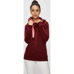 Only - Bluza Jasmin. Szare bluzy z kapturem damskie marki ONLY, s, z bawełny, z okrągłym kołnierzem. Za 169,90 zł.