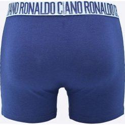CR7 Cristiano Ronaldo - Bokserki (3-pack). Niebieskie bokserki męskie CR7 Cristiano Ronaldo, z bawełny. W wyprzedaży za 89,90 zł.
