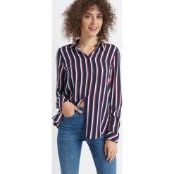 Koszula w paski. Koszule w niebieskie paski Orsay, z tkaniny. Za 79,99 zł.