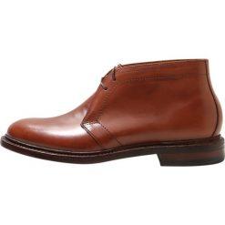 Buty wizytowe męskie: J.CREW LUDLOW CHUKKA BOOTS Eleganckie buty english tan