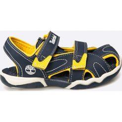 Timberland - Sandały dziecięce. Szare sandały chłopięce marki Timberland, z materiału. W wyprzedaży za 169,90 zł.