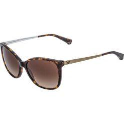 Okulary przeciwsłoneczne damskie: Emporio Armani Okulary przeciwsłoneczne dark brown/gold