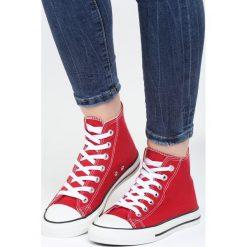 Czerwone Trampki Too Young. Czerwone trampki i tenisówki damskie Born2be, z materiału. Za 49,99 zł.