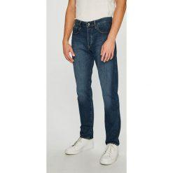 G-Star Raw - Jeansy 3301. Niebieskie jeansy męskie z dziurami marki G-Star RAW. W wyprzedaży za 499,90 zł.