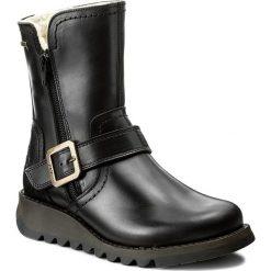 Botki FLY LONDON - Sekufly GORE-TEX P144057000 Black. Czarne buty zimowe damskie marki Camper, z gore-texu. W wyprzedaży za 389,00 zł.